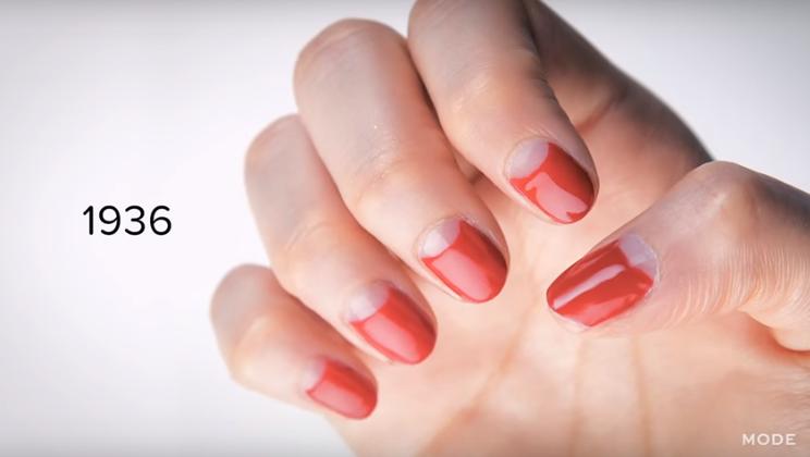 100 años de manicure: Así ha cambiado la tendencia de uñas en el ...