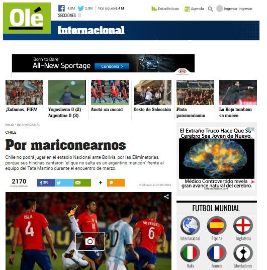 Olé I Sitio Oficial