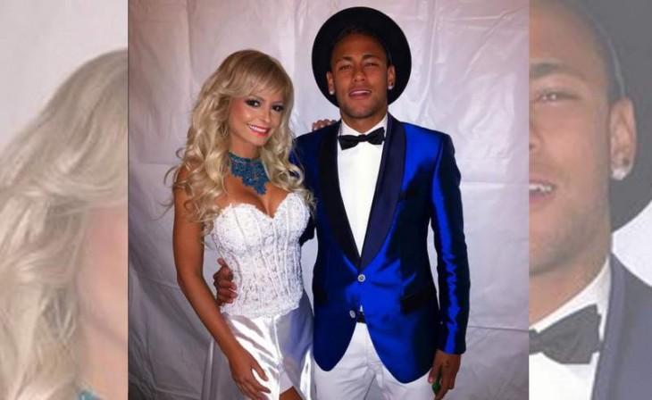 Andrade y Neymar en Barcelona