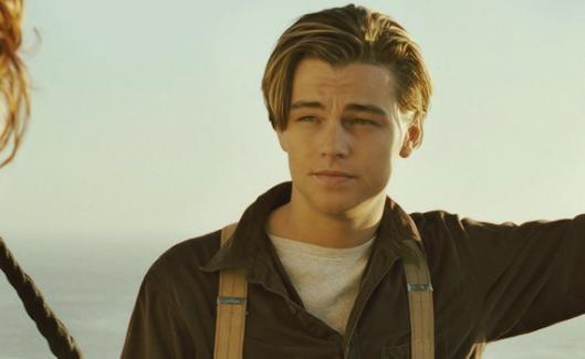 Leonardo DiCaprio en Titanic