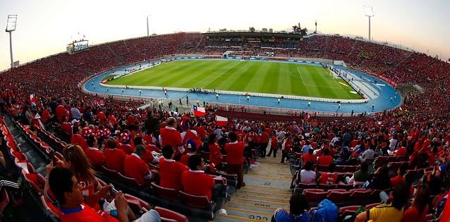 La roja busca casa fifa suspende al estadio nacional for Puerta 27 estadio nacional