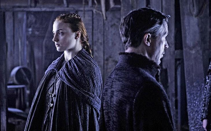 Petyr Baelish y Sansa Stark | HBO