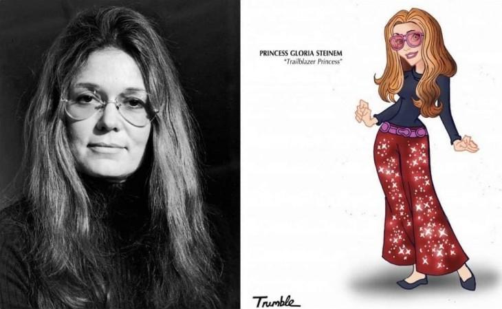 Gloria Marie Steinem es una periodista y escritora judía estadounidense, considerada icono del feminismo en su país.