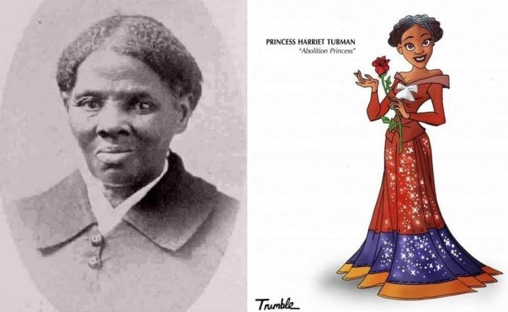 Harriet Tubman fue una luchadora por la libertad de los afroamericanos esclavizados en EE.UU. Tras escapar de la esclavitud, realizó trece misiones de rescate en las que liberó a cerca de setenta esclavos utilizando la red antiesclavista conocida como ferrocarril subterráneo, además de luchar por conseguir el sufragio para las mujeres.