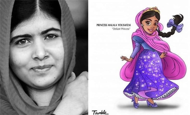 Malala Yousafzai es una estudiante, activista y bloguera pakistaní que ganó el Premio Nobel de la Paz en 2014; con 17 años, se convirtió en la persona más joven en acceder a ese premio en cualquiera de las categorías que se otorga.