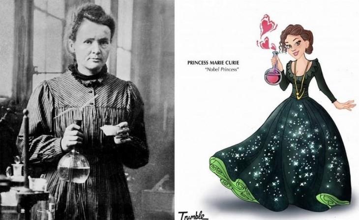 Marie Curie fue la primera mujer en ocupar el puesto de profesora en la Universidad de París, además de ser la primera persona ganadora de dos premios Nobel en distintas categorías (Física y Química).