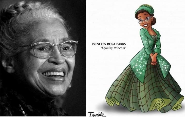 Rosa Parks fue una figura importante del movimiento por los derechos civiles en Estados Unidos, en especial por haberse negado a ceder el asiento a un blanco y moverse a la parte trasera del autobús en el sur de Estados Unidos, el 1 de diciembre de 1955.
