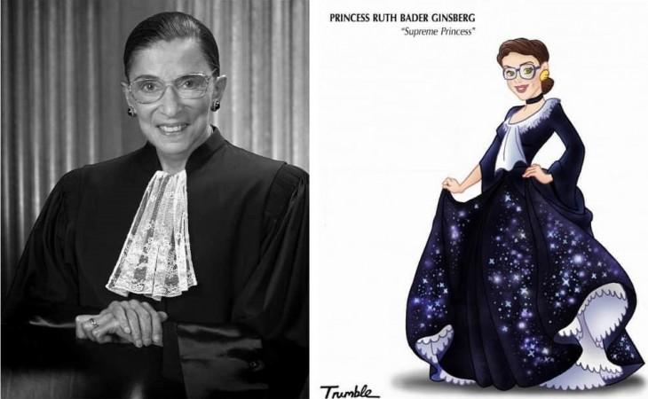 Ruth Joan Bader Ginsburg fue la segunda mujer en la historia que alcanzó el puesto de jueza del Tribunal Supremo de los EE.UU. Está a favor del derecho al aborto, contra la pena de muerte y a favor de los derechos de los homosexuales.