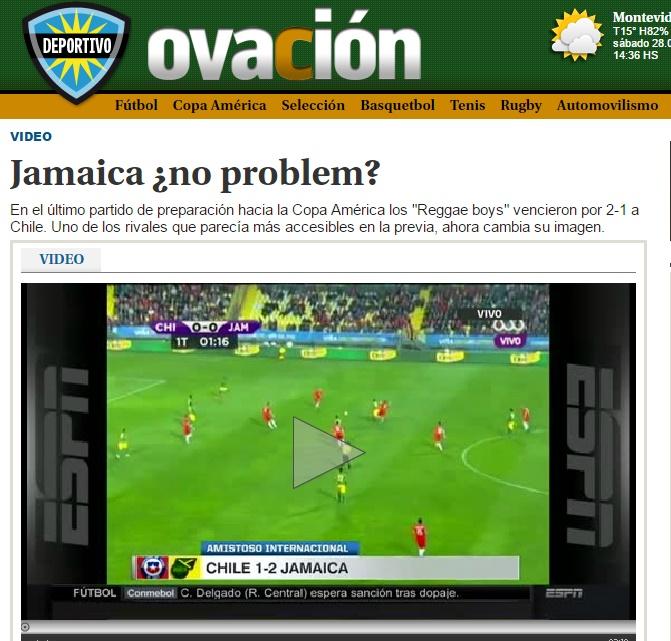 Ovación I Uruguay