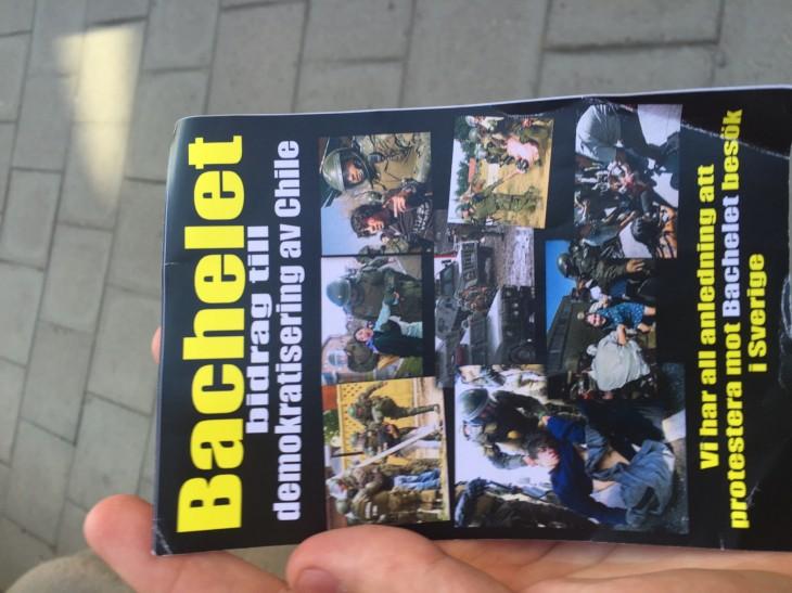 Panfleto contra Bachelet | Néstor Aburto (RBB)