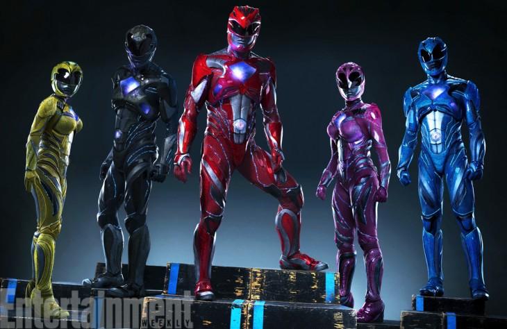 El nuevo look de los Power Rangers | Lionsgate