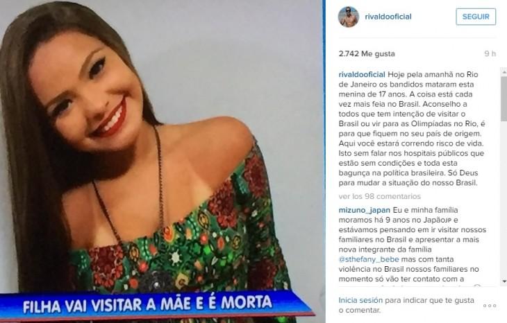 Rivaldo I Instagram