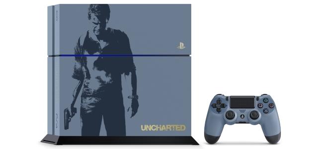 Consola PS4 edición Uncharted 4