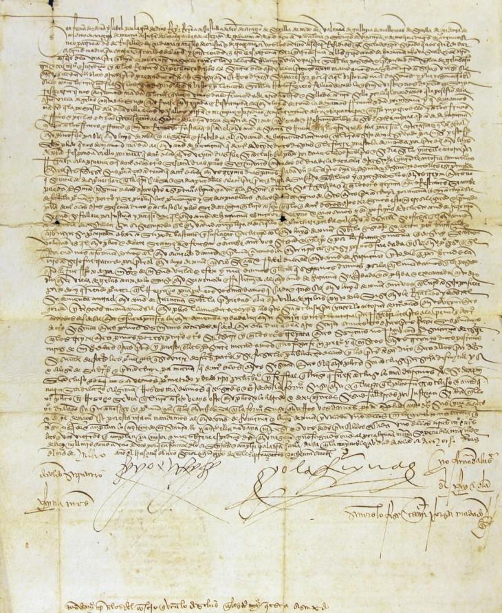Archivo reyes católicos   Archivo Nacional