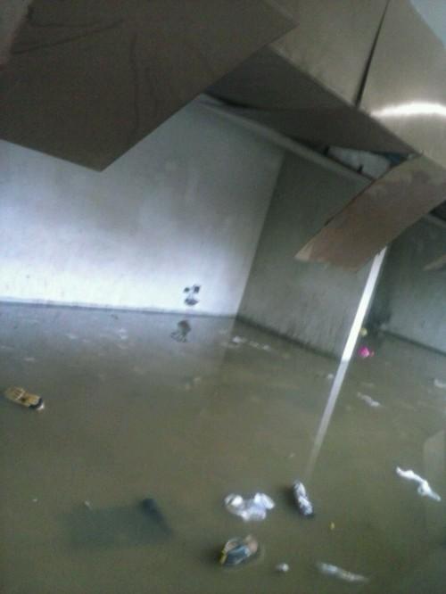 Inundación en Cárcel de Valdivia | RBB