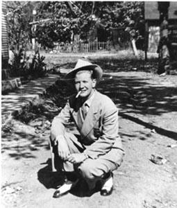 Billy Tipton en 1945, Foto de Betty Cox, dianemiddlebrook.com