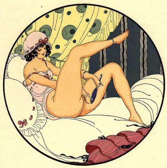 Ilustración por Gerda Wegener