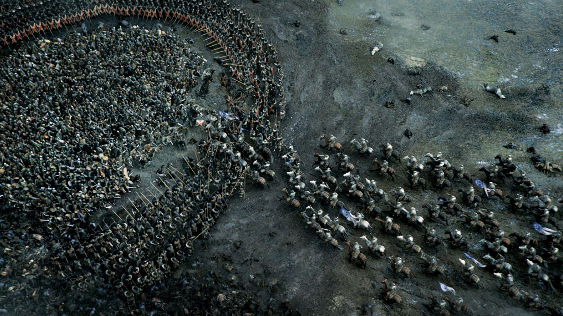 Batalla entre los ejércitos de Jon Snow y Ramsay Bolton | HBO