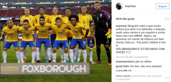 Neymar I Instagram