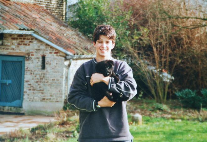 Gordon (15 años) junto a Birdy