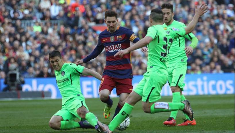 Barcelona-Getafe 2015/16