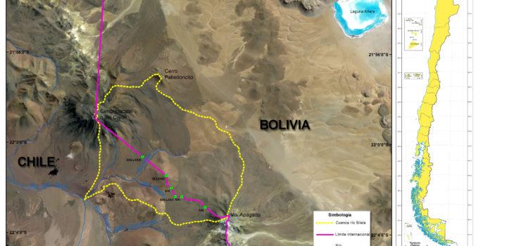 Río Silala según Chile (haz clic para ampliar la imagen) | Ministerio de Relaciones Exteriores de Chile
