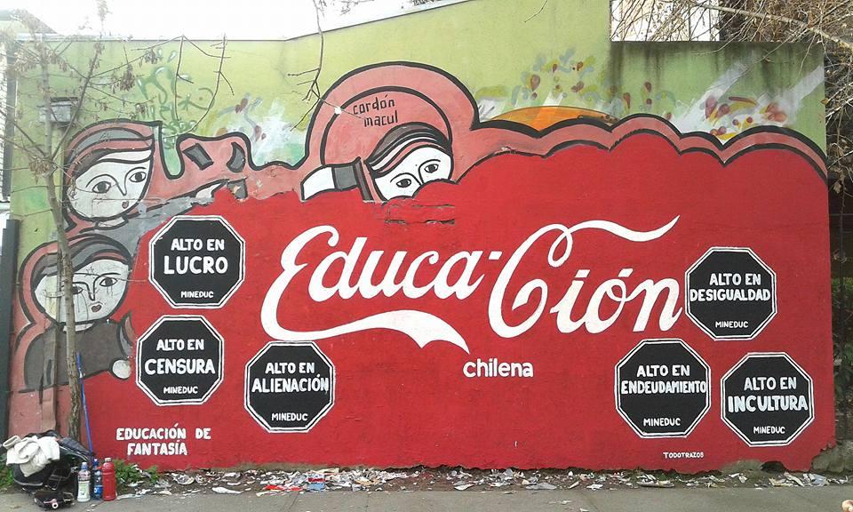 El mural de Felipe Garrido.