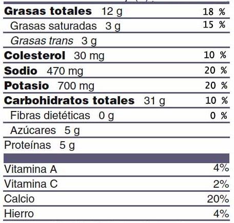 Etiqueta nutricional | dietasimple.com