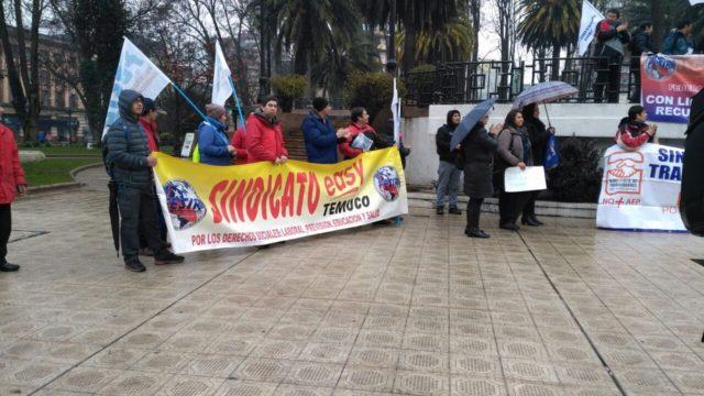 Marcha trabajadores retail | Cristian Cerna (RBB)