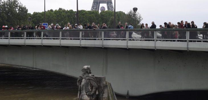 El Sena este sábado | Dominique Faget | AFP