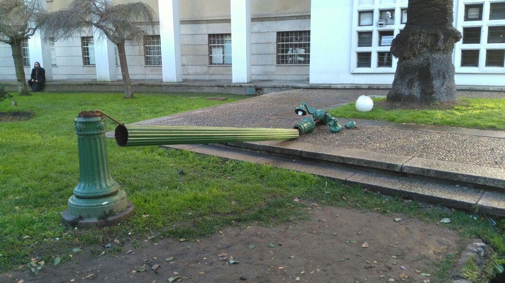 destrozos Universidad de Concepción2