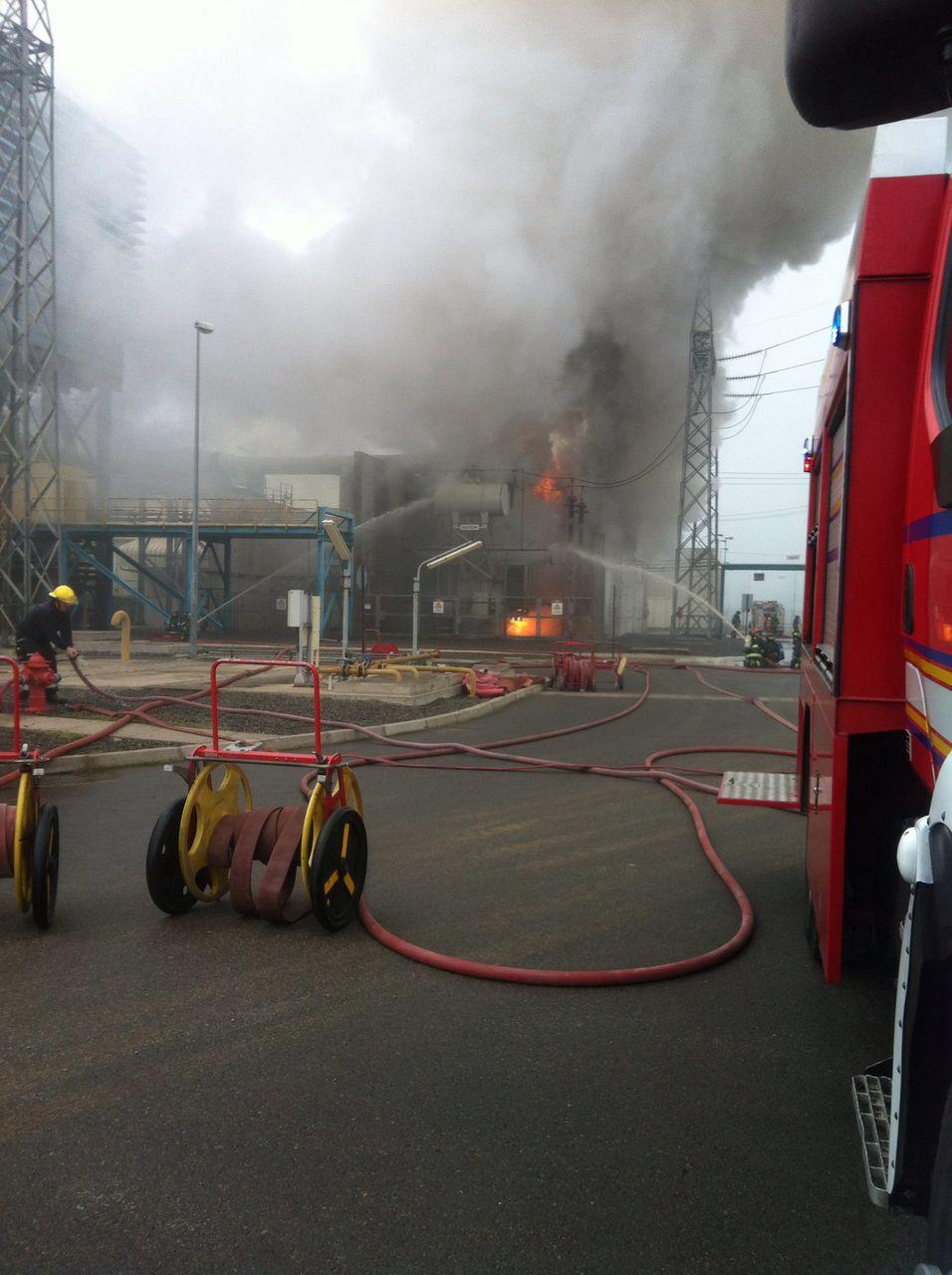 Incendio Central Nehuenco