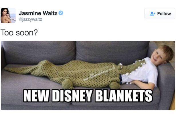 Jasmine Waltz | Twitter