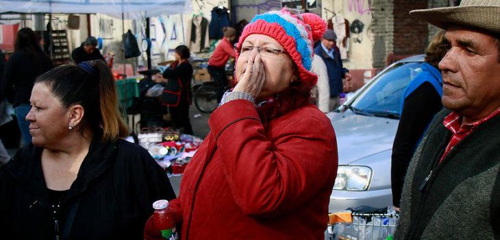 Transúntes increpan a Ossandón | Francisco Castillo | Agencia UNO