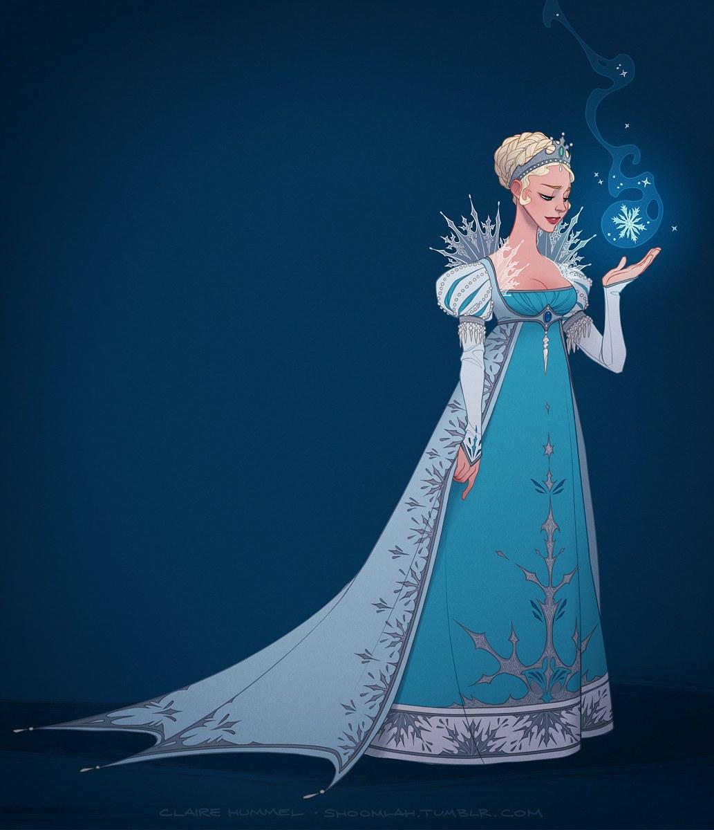 1830s40s Elsa Frozen