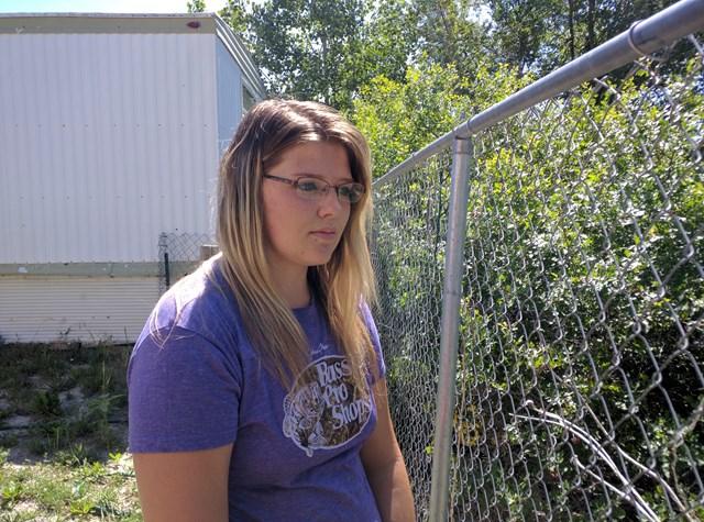 La joven que realizó el hallazgo | county10.com