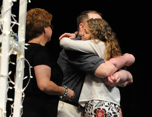 Kepner junto a su familia / gofundme.com