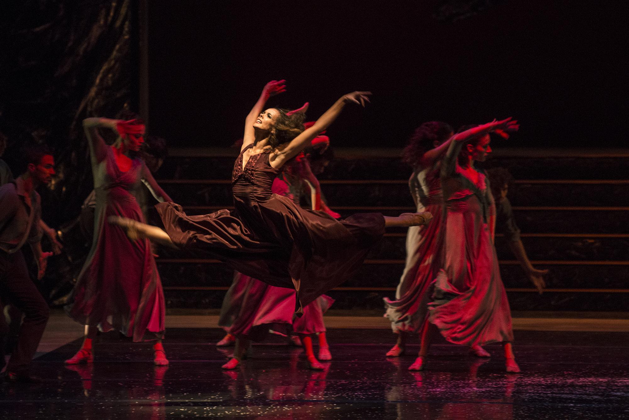 Bailarina Andreza Randisek | Ballet de Santiago.