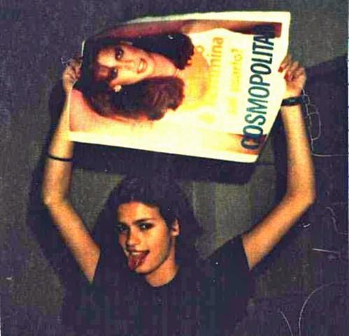 Gia Carangi con revista Cosmopolitan | www.giacarangi.com