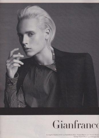 Martin Cohn para Gianfranco Ferre (2010) | Models.com