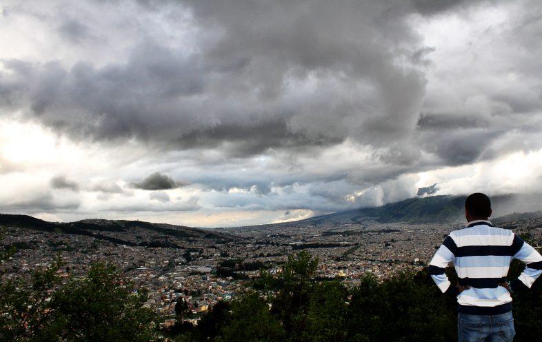 Sachin Bhandary en Quito, Ecuador
