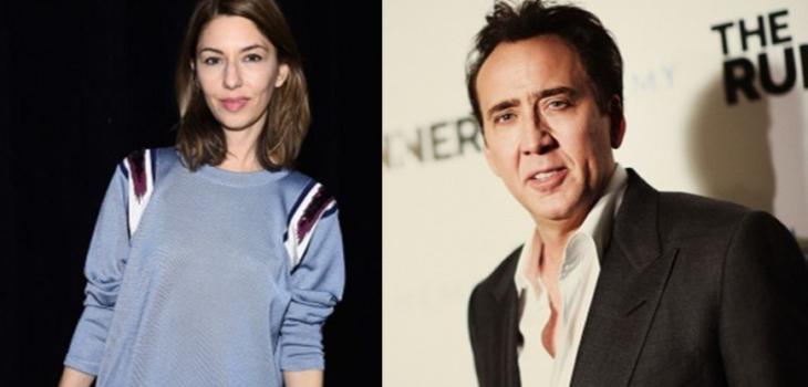 Sofia Coppola y Nicolas Cage | AFP