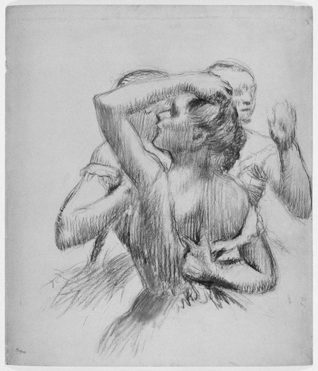 Francia restituye un dibujo de Degas expoliado por los nazis en 1940