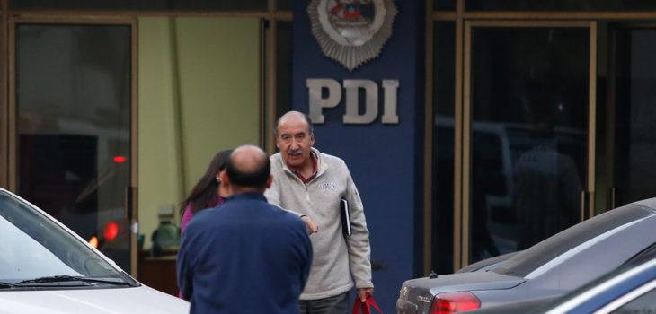 Reinel Bocaz llegando a la PDI | Agencia UNO
