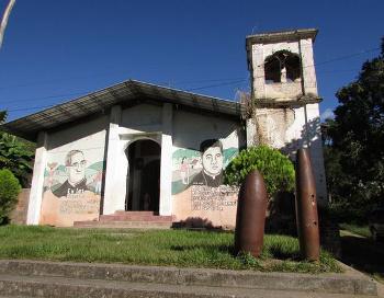 Iglesia de Cinquera en El Salvador