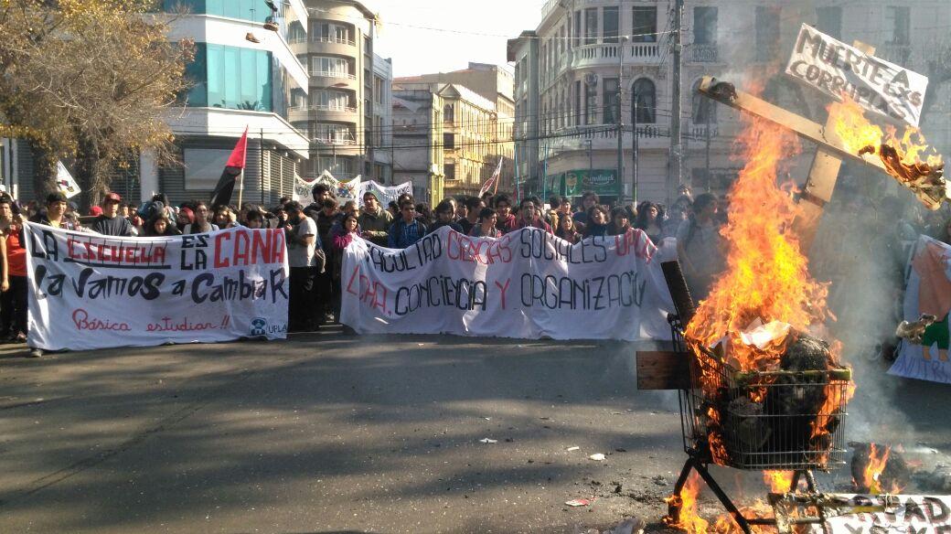 marcha Valparaíso estudiantes 7
