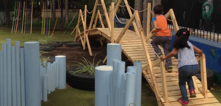 Estudiantes de Arquitectura crean juegos para jardines infantiles en ...