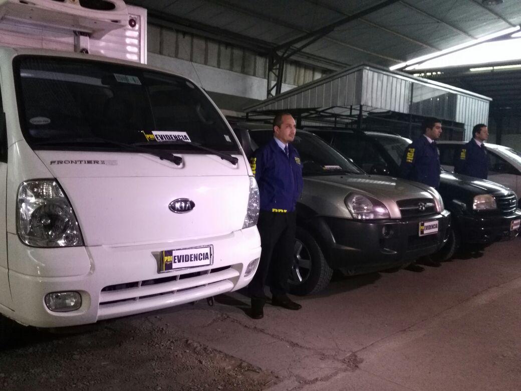 Vehículos incautados | Pedro Cid | RBB