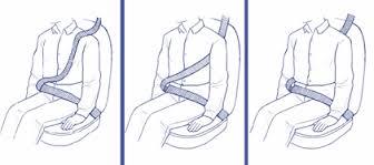 Otros usos incorrectos del cinturón de seguridad