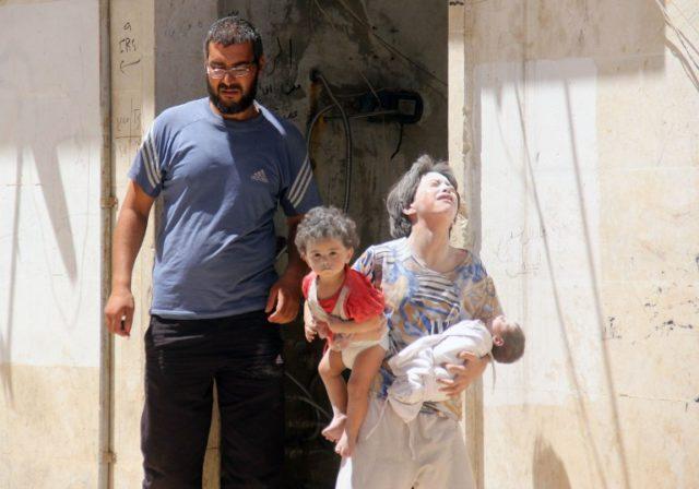 Niños de Siria | AFP
